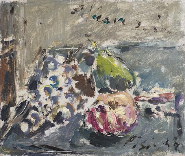 Filippo De Pisis, 'Natura morta con uva', 1944, Finarte