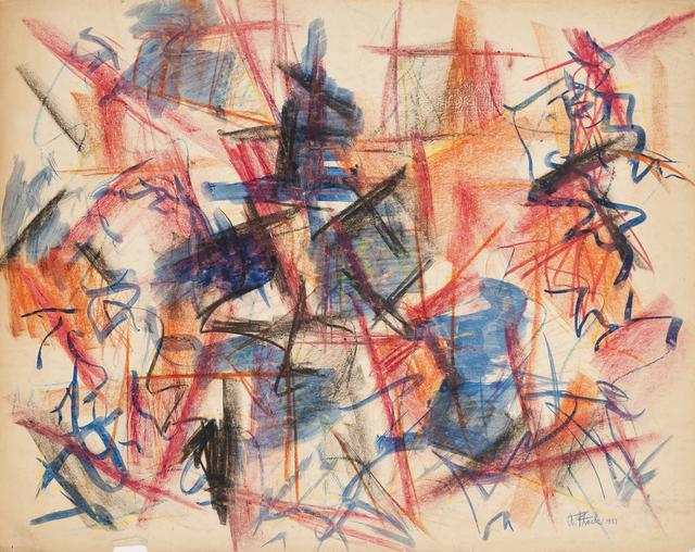 , 'Weehawken Ledger,' 1951, Hollis Taggart Galleries