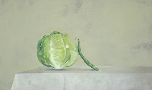 , 'Lettuce and Stringbean,' 2015, Galerie Huit