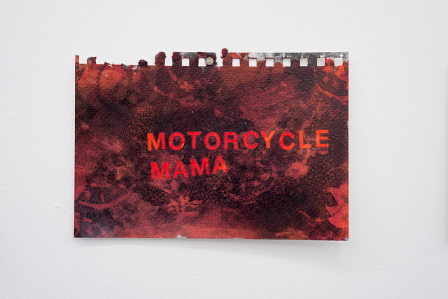 , 'Motorcycle Mama,' 2016, Wil Aballe Art Projects | WAAP