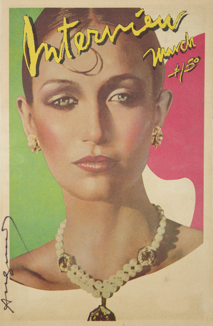 Andy Warhol, 'Andy Warhol Signed Interview Magazine', Julien's Auctions