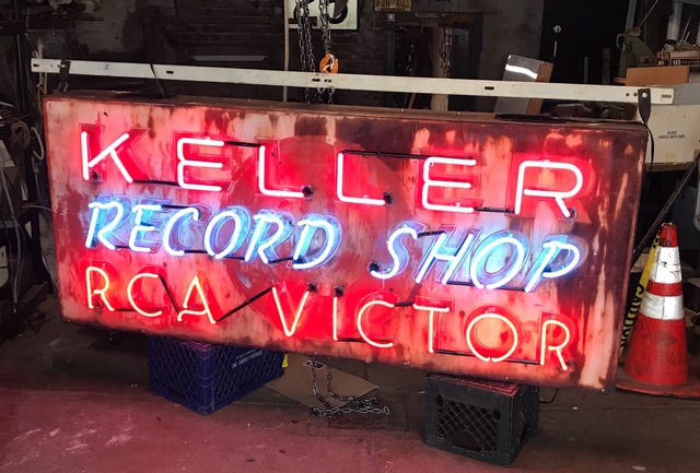 , 'Keller Record Shop, RCA Victor,' 1950's, InLiquid
