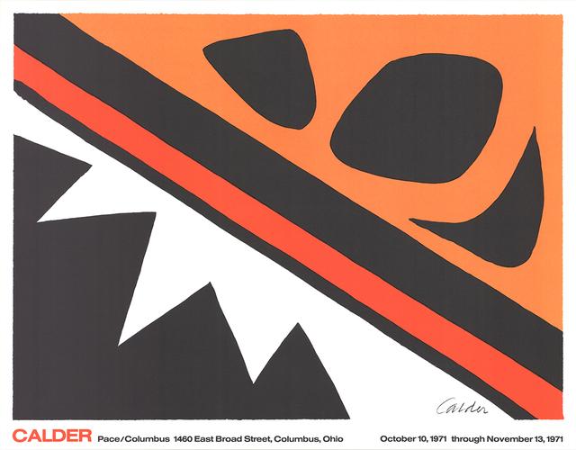 Alexander Calder, 'La Grenouille et la Scie (large)', 1971, ArtWise