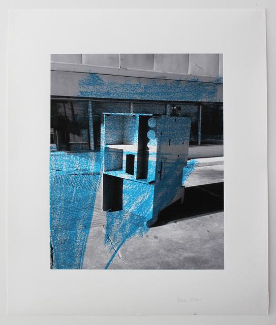 , 'Photo-Print #02,' 2015, Galerie Les filles du calvaire