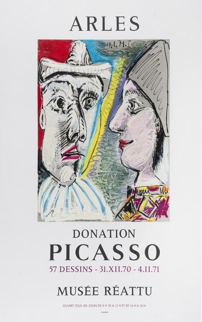 Pablo Picasso, 'Arles Donation Picasso', 1971, Forum Auctions