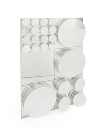 A John Leslie Op-Art wall mirror