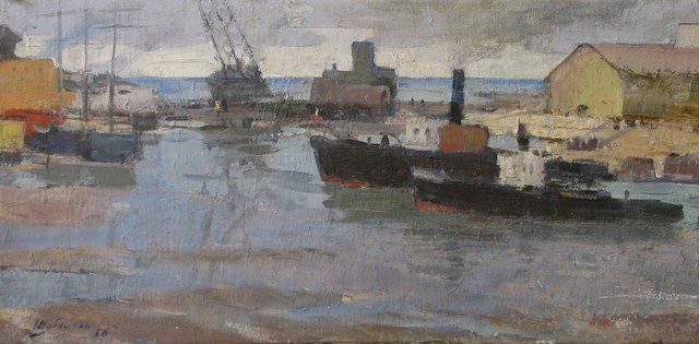 , 'Arkhangelsk, North Pole,' 1958, Paul Scott Gallery & galleryrussia.com