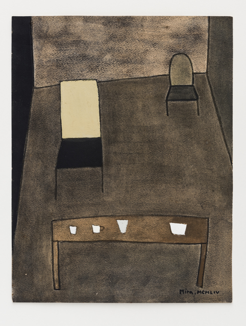 Mira Schendel, 'Sem título / Untitled', 1954, Barbara Mathes Gallery