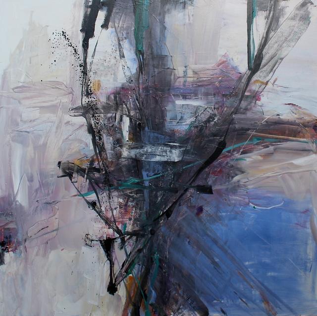 , 'Intersect Blue,' 2018, Friesen Gallery