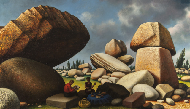 Peter Blume, 'Study for Boulders of Avila ,' 1975, ACA Galleries