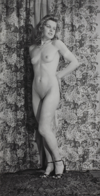 , 'Untitled (Standing nude with heels),' ca. 1940s, Fleisher/Ollman