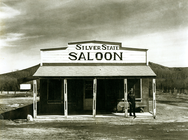 , 'Silver State Saloon, Beowawe, Nevada,' 1940, Be-hold