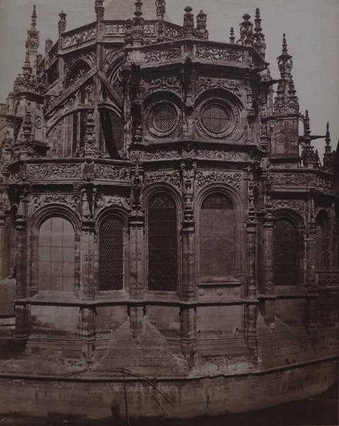 Édouard Baldus, 'Chevet de l'eglise Saint-Pierre, Caen', 1858, James Hyman Gallery