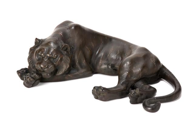 NON NAME, 'Bronze Lion Ornament 20 0327', ca. 1880~, Other, Bronze, Yumekoubou Antique