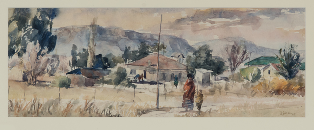 , 'Mount Frere (Transkei Townscape in Winter),' 1975, Gallery MOMO