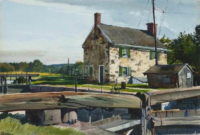Ogden Minton Pleissner, 'The Lock House', Doyle