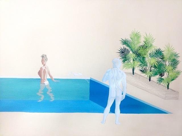 , 'Dionysus Poolside (Knees),' 2015, Sara Nightingale Gallery
