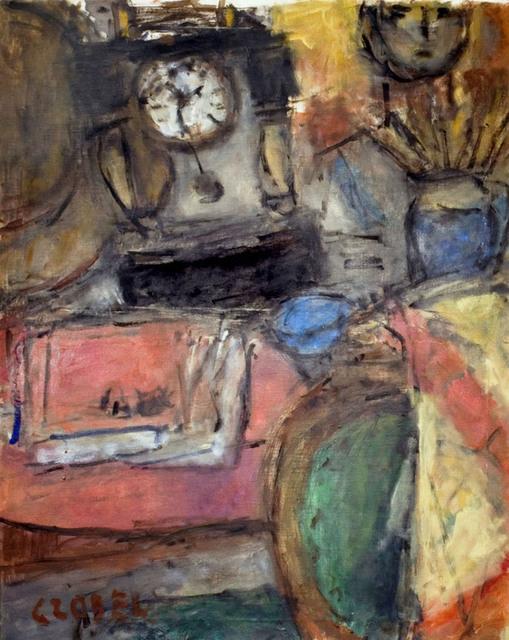 , 'Still Life with Clock,' ca. 1961, R. S. Johnson Fine Art