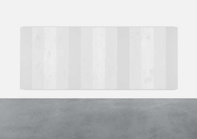 , 'Untitled (White Multiband, Vertical Strokes),' 2003, Lisson Gallery