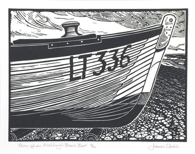 James Dodds, 'Bow of an Aldeburgh Beach Boat - edition of 150', Messums
