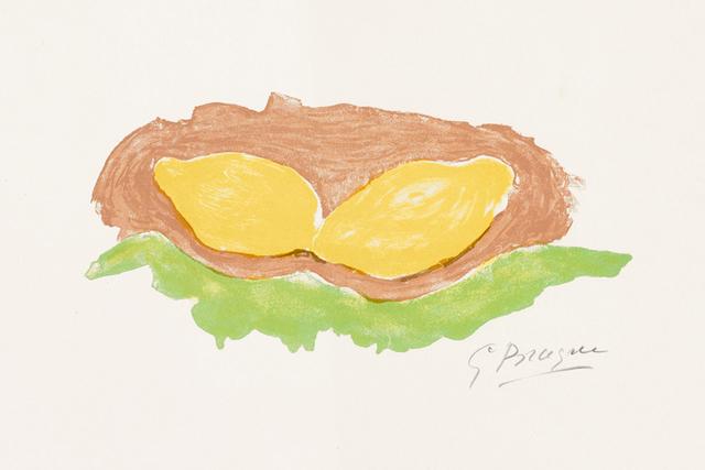Georges Braque, 'Les Citrons (Lemons)', 1954, Masterworks Fine Art