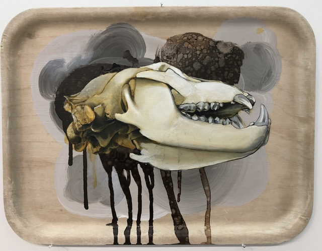 , 'Head On A Plate IV,' 2018, SHIM Art Network
