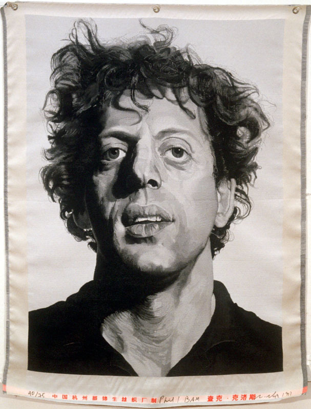 Chuck Close, 'Phil/BAM,' 1991, Addison/Ripley Fine Art