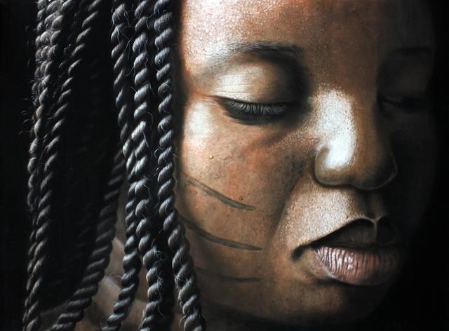 , 'Tribal Marks Series II #10,' 2015, TAFETA