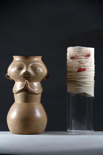 , 'Untitled (Jarrón y Máscara),' 2015, Nora Fisch