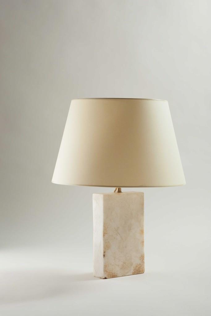 jean michel frank table lamp block model ca 1925 artsy. Black Bedroom Furniture Sets. Home Design Ideas