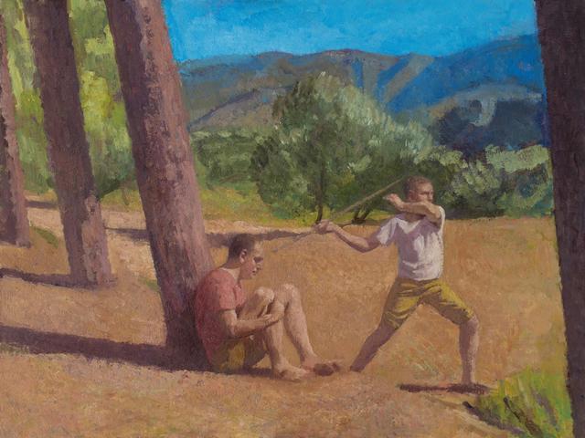 , 'Boy with Javelin ,' 2018, John Martin Gallery