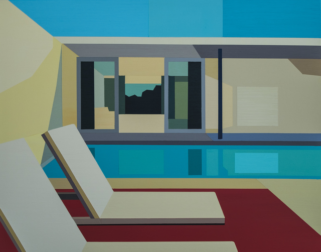", '""Poolside Living"",' 2017, Bonner David Galleries"