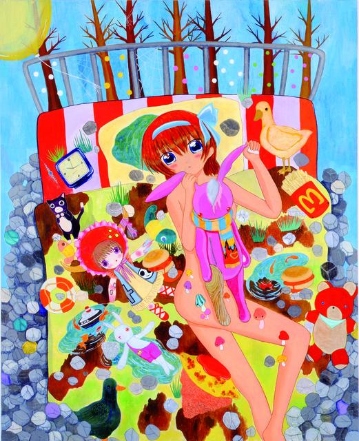 Mahomi Kunikata, 'On the Bedsheet', 2008, Alex Daniels - Reflex Amsterdam