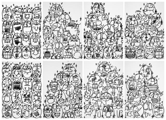 , 'Philadelphia Greatness, 115 Faces (The Death of Kings),' 2018, Polígrafa Obra Gráfica