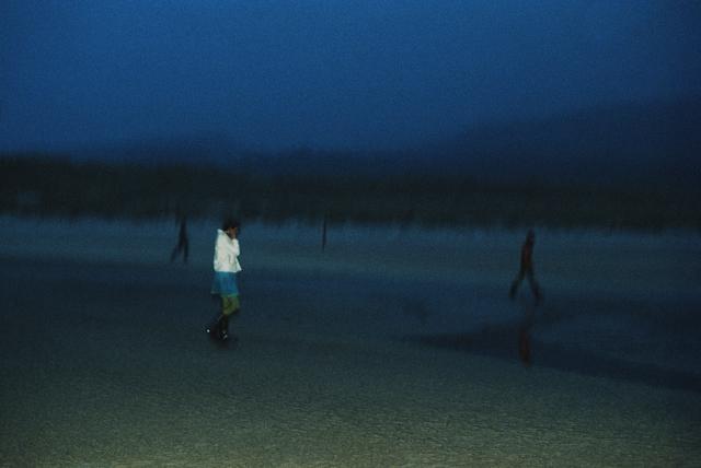 , 'Vivienne Tripping on the Beach,' 1979, KEWENIG