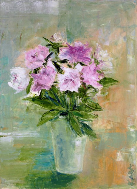 , 'Peonies,' 2013, MA Gallery
