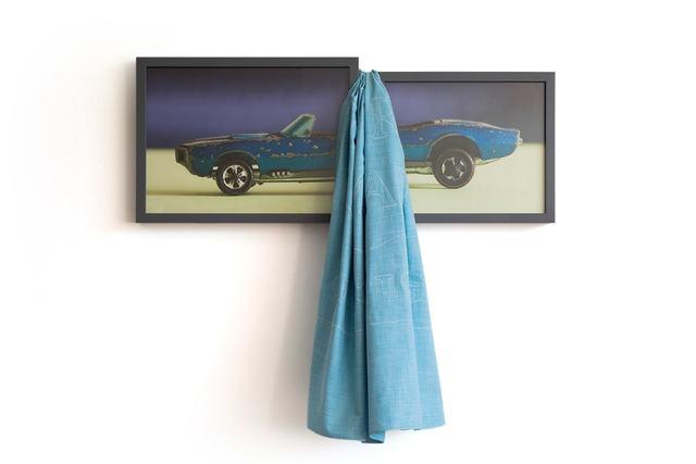 , 'Blue Firebird,' 2018, Blindspot Gallery