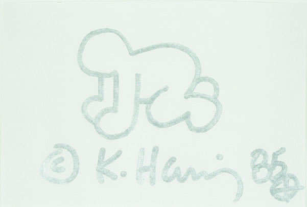 Keith Haring, 'Untitled (Baby)', 1985, Digard Auction