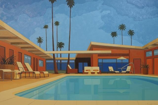 , 'Twin Palms,' 2015, Cynthia Corbett Gallery