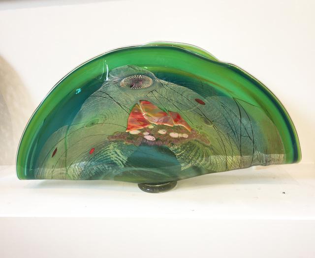 , 'Lime Folded Fan,' ca. 2010, L'Attitude Gallery