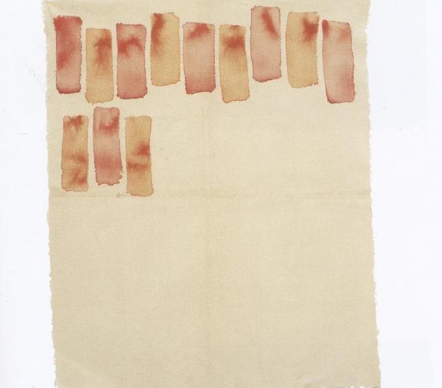 , 'Pennello Piatto ,' 1971, Galleria Spazia