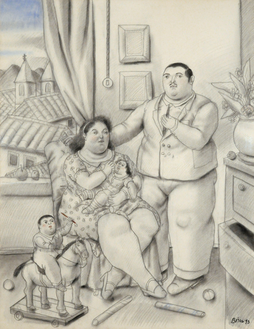 , 'A Family,' 1993, Contini Art Gallery