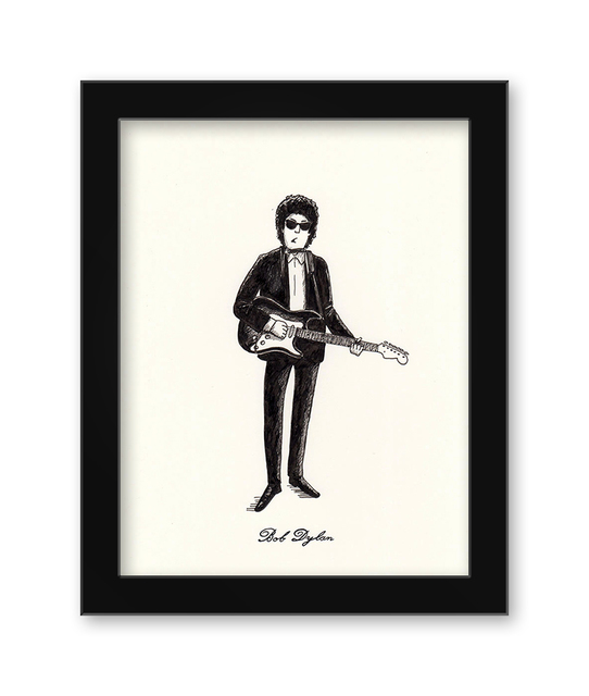 , 'Bob Dylan,' 2017, Spoke Art