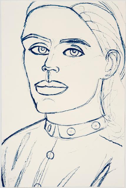 Alex Katz, 'Kate', 2006, Graphicstudio USF