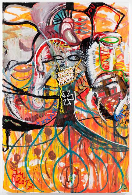 """, '""""DR. FLASH B'LUTHER'Z, DER 1. TOTALSTE DIGITAL,' 2017, Galerie Krinzinger"""
