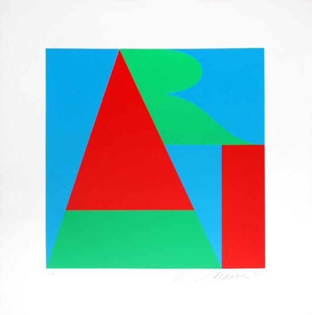 Robert Indiana, 'The Bowery Art', 1971, Kunzt Gallery