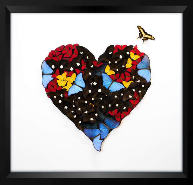 , 'B&W Heart,' , Eden Fine Art
