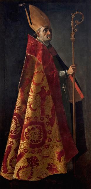 , 'San Ambrosio (Saint Ambrose),' ca. 1626-1627, Museo Thyssen-Bornemisza