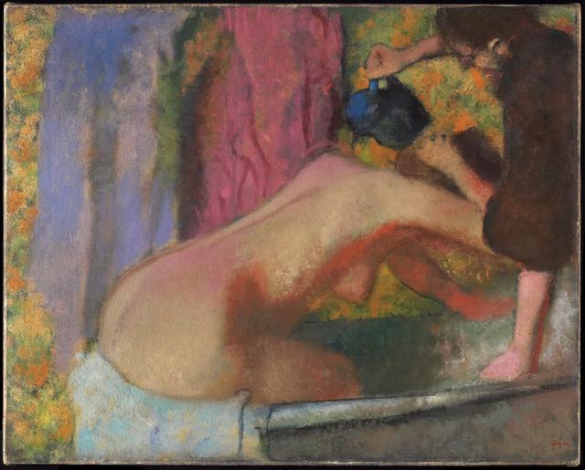 Edgar Degas, 'Woman at Her Bath', ca. 1895, Art Gallery of Ontario (AGO)