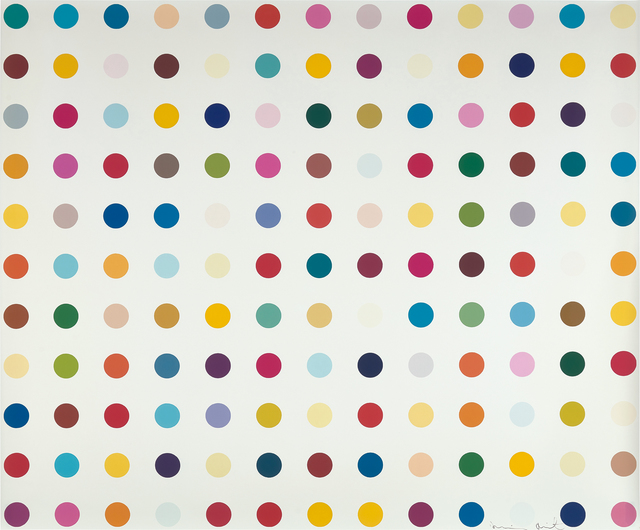 Damien Hirst, 'Lysergic Acid Diethylamide (LSD)', 2000, Phillips